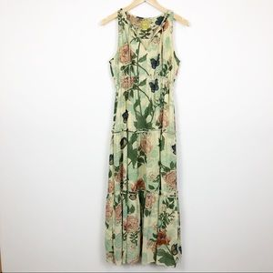 Anthropologie Maeve Maravilla Floral Maxi Dress 8P